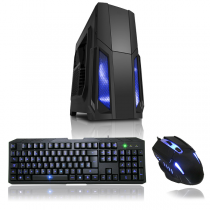 Quad Core Gaming PC Tower With WIFI & 8GB 1TB HDD + 1GB Graphics £279.94