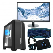 Our lowest priced gaming bundle at £758.04 includes an Intel Core i5 Kaby Lake 7500 8GB 1TB GTX 1050Ti 4GB Gaming PC