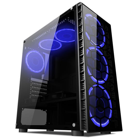 Ryzen 5 1600X 1060 Gaming PC Windows 10 Pro. Priced at £745.96.