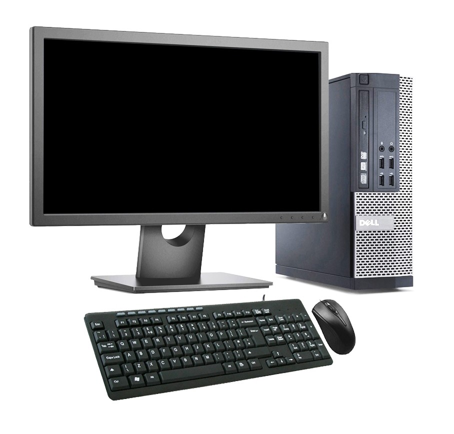 DELL PC Gaming Computer Bundle i3 2nd Gen 4GB 120GB SSD 500GB HDD Win 10 - Configurable