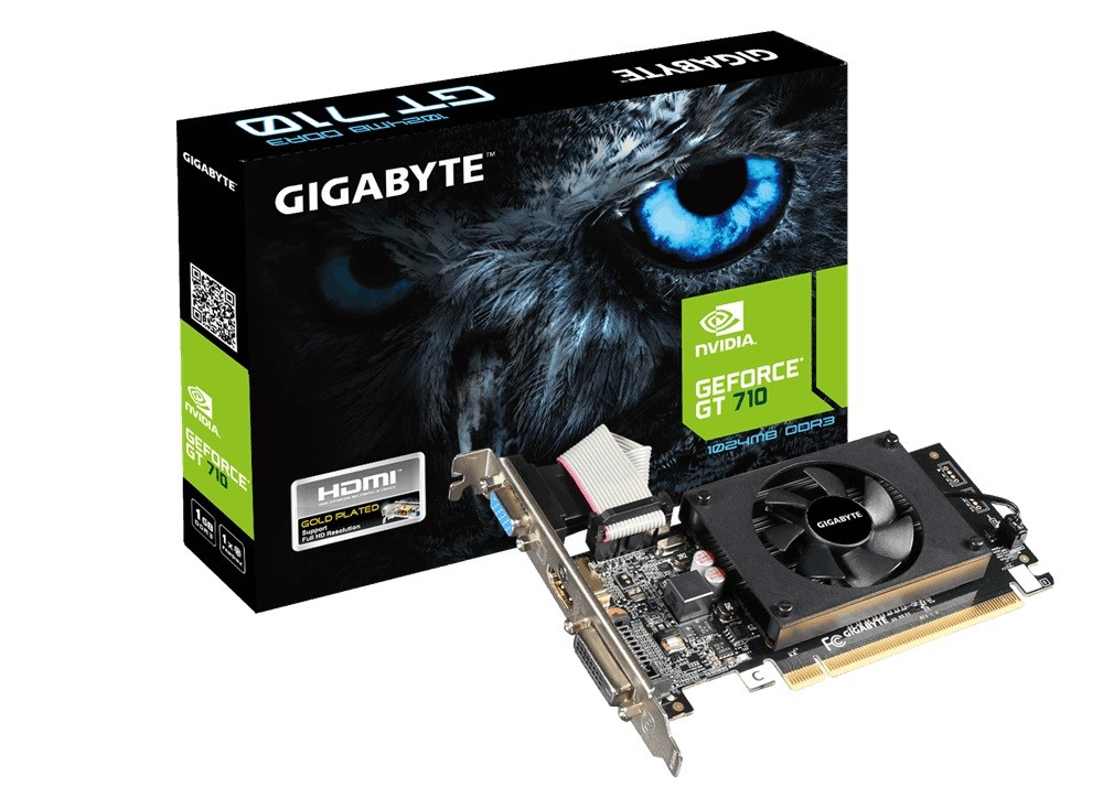 Gigabyte NVIDIA Geforce GT710 1GB DDR3