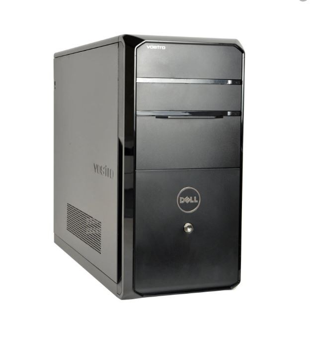 Dell Vostro 460 Tower, 8GB RAM, 120gb SSD, i7 2600 3.4ghZ -Customisable