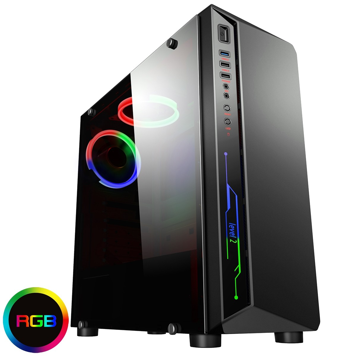 6 Core FX Gaming PC with 8GB 1TB + 4GB 1650 Graphics