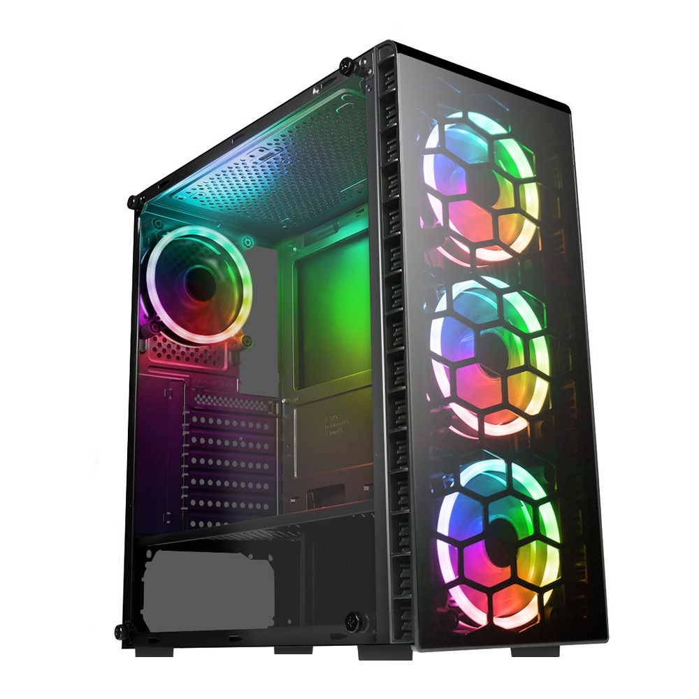 Core i5-3450 Gaming PC Computer Wifi 1TB HDD 120GB SSD 8GB RAM 2GB 1030 Graphics - Windows 10