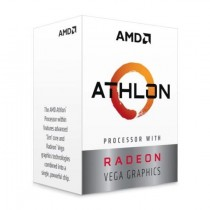 AMD Athlon 3000G CPU AM4 3.5GHZ Dual Core 35W 4MB Cache 14nm 3rd Gen VEGA 3 Graphics Picasso NO HEATSINK/FAN