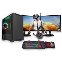 Core i5 FORTNITE Commando GAMING BUNDLE 8GB RAM 4GB GTX1650 500GB HDD Windows 10 - Dual Monitor with Gaming Keyboard