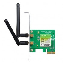 TP-LINK TL-WN881ND 300Mbps Wireless N PCI Express Adapter 2 Detachable Antennas Low Profile Bracket