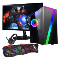 Quad Core Gaming PC Bundle WiFi 1TB 8GB 2GB Graphics - Windows 10