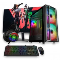 Intel Core i5-10500 Gaming PC Bundle 16GB RAM GTX1650 Graphics Card 500GB HDD 240GB SSD - Windows 10 Pro