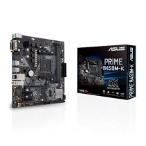Asus PRIME B450M-K AMD B450 AM4 Micro ATX 2 DDR4 VGA DVI LED Lighting M.2