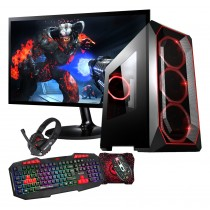 AMD A10 9700 Apex Legend Gaming PC Bundle WiFi 1TB HDD 120GB SSD 8GB RAM + 4GB 1650 Graphics & Windows 10