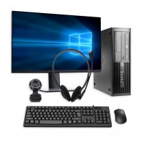 HP PC Home Working Office Bundle Core i3 3rd Gen 4GB RAM 120GB SSD SFF - Windows 10