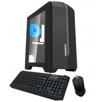 Quad Core Gaming PC 8GB RAM 1TB 120GB & Win 10 & 2GB Graphics Blue Combo