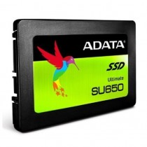"ADATA 240GB Ultimate SU650 SSD 2.5"" SATA3 7mm (2.5mm Spacer) 3D NAND R/W 520/450 MB/s 75K IOPS"
