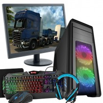Core i5 7400, EuroTruck Sim 2 Bundle - 8GB RAM, 1TB HDD, 4GB GTX1650 graphics windows 10 pro