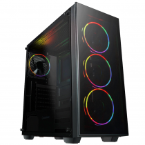 Intel CORE i5 Gaming PC 9600K Coffee Lake 16GB RAM 256GB M.2 SSD -  Crusader Rainbow RGB