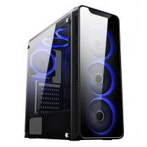 Core i7 7700 Kaby Lake 7th Gen Gaming PC 4GB GTX 1050 Ti Windows 10 Pro 16GB