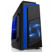 Quad Core Gaming PC Computer WiFi 500GB HDD 8GB RAM 2GB Graphics - Windows 10