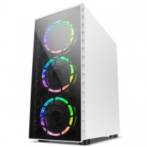 Cheap Core i5 3450 Gaming PC Computer WiFi 1TB HDD, 120GB SSD, 8GB RAM + 4GB 1050ti Graphics & Windows 10 - Raider White
