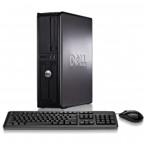 Dell Optiplex (DT) Core 2 Duo 4GB 160GB + Windows 7 Pro