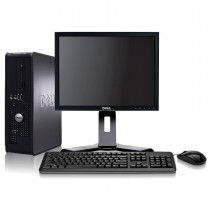 "Dell Optiplex (SFF) Core 2 Duo 4GB 1000GB + 17"" TFT & Windows 7 Pro"