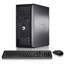Dell Optiplex (Tower) Core 2 Duo 4GB 1000GB + WIndows 7 Pro
