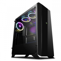 GameMax Aurora RGB Mid-Tower Tempered Glass Gaming Case