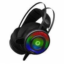 Game Max G200 7 Colour RGB LED Gaming Headset and Mic USB and 3.5mm Jack