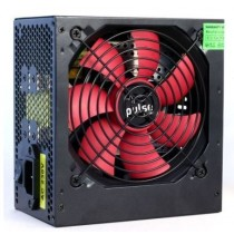Pulse 650W PSU, ATX 12V, Active PFC Silent Red Fan