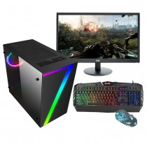 Cheap Quad Core Gaming PC Bundle WiFi 1TB 8GB + 2GB Graphics & Windows 10