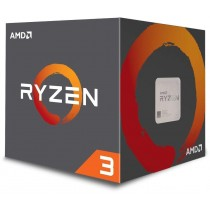 AMD Ryzen 3 1200 CPU with Wraith Cooler, AM4, 3.1GHz (3.4 Turbo), Quad Core, 65W, 10MB Cache, 14nm, No Graphics CPU