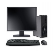 "Dell OptiPlex SFF Core 2 Duo 4GB 320GB 17"" TFT - Windows 10"