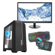Intel CORE i5 Gaming PC Coffee Lake 8400 8GB 1TB GTX1650 4GB ULTRA FAST - Single Monitor with Gaming Keyboard Bundle