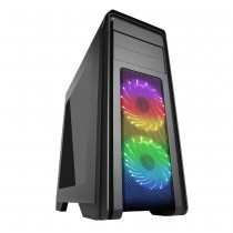 Game Max Falcon Rainbow RGB Gaming Case