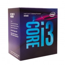 Intel Core i3-8100 CPU 3.6 GHz Quad Core 65W 14nm 6MB Cache UHD GFX 8 GT/s Coffee Lake