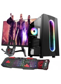 Core i5 2nd Gen Gaming Sauron PC Bundle 2GB GT1030 RAM 2GB  500GB HDD - Windows 10