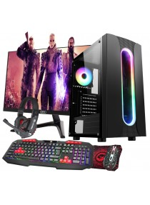 Quad Core Gaming Sauron PC Bundle WiFi 1TB 8GB 2GB Graphics - Windows 10
