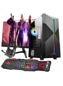 Core i5 2nd Gen Gaming Pyro PC Bundle 8GB RAM 4GB GTX1650 1TB - Windows 10